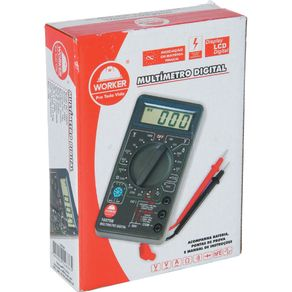 Multímetro Digital 100706 Worker