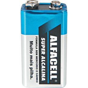 Bateria Alcalina 9V 6LR6 Alfacell