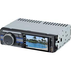 """Som Automotivo com Tela de 3"""", MP3 Player, Rádio FM, Entradas USB, SD e Auxiliar Naveg NVS3099"""