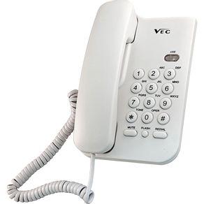 Telefone com Bloqueador Vec KXT 3026 Branco