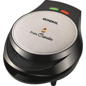 Máquina de Cupcake Mondial Maker Pratic CK-01 Inox 127V