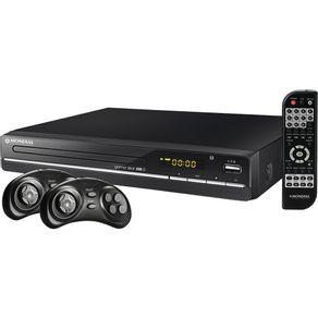 DVD Karaokê Mondial com USB, Game, Ripping, 2 Joysticks e CD de 600 Jogos Game Star USB II D-14
