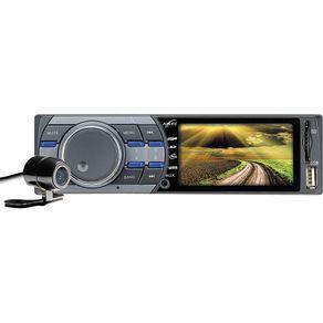 """Som Automotivo com Tela 3"""". MP3 Player. Rádio FM. Entradas USB. SD. Auxiliar e Câmera de Ré Naveg NVS 3030CR"""
