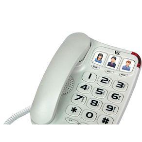 Telefone Big Number Vec 881 V2 - Branco