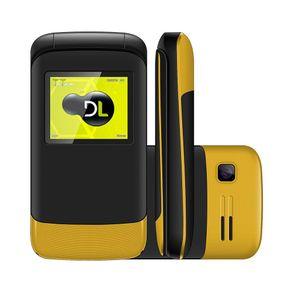 Celular DL amarelo