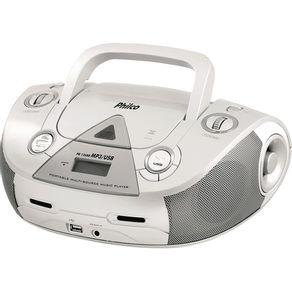 Radio-CD-MP3-AM-FM-USB-Aux-Philco-PB126-Br