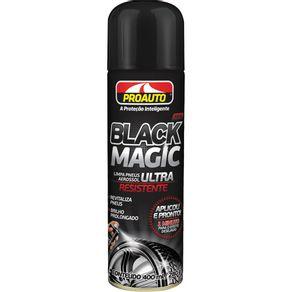 Limpa Pneus Spray Black Magic 400ml Proauto