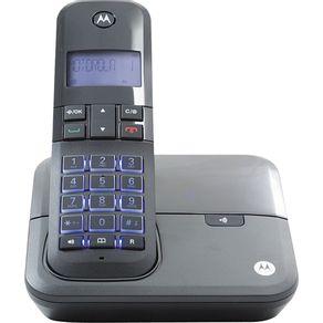 Telefone sem Fio com Identificador e Viva Voz Dect 6.0 Motorola MOTO4000 - Preto