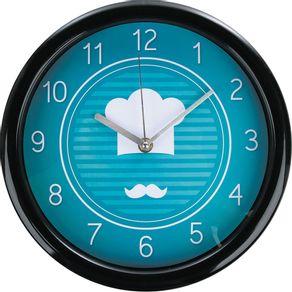 Relógio 26cm Redondo Grande Cazza Chef