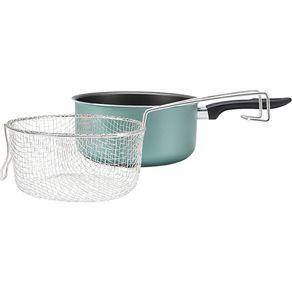 Fritadeira 20cm Antiaderente 2,65L Chilli Brinox - Turquesa