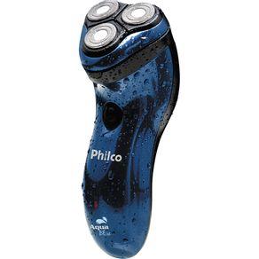 Barbeador-Elet-Philco-Aqua-Blue-127V