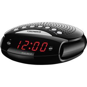 Rádio Relógio com AM/FM. Alarme e Função Soneca Mondial Sleep Star III RR-03