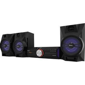 Mini System com CD. MP3. Bluetooth. 1500WRMS. Entradas USB e Auxiliar Philco PH1700BT