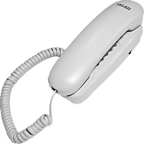 telefone gondola com bloqueador branco