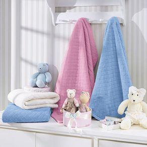 Cobertor-Bebe-Plush-Rosa-Hedrons