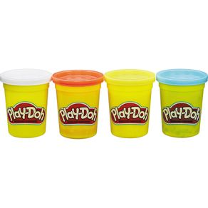Massa-PlayDoh-c-4Potes-B5517-Hasbro-Sort