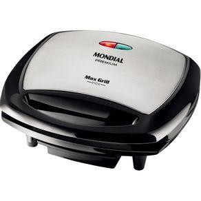 Grill-Mondial-Max-Grill-Inx-G07-127V
