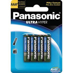 Pilha Palito com 4 Unidades Ultra Hyper Panasonic