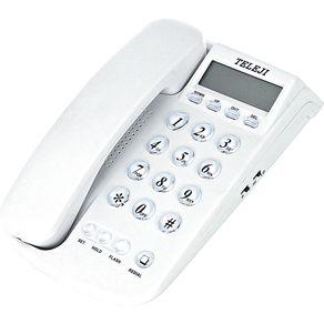 Telefone com Identificador Teleji 46 V5 Branco