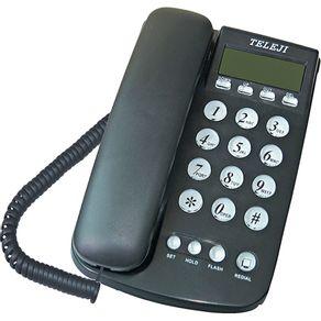 Telefone com Identificador Teleji 46 V5 preto