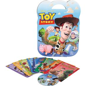 Kit 8 Livros Infantis+CD Toy Story
