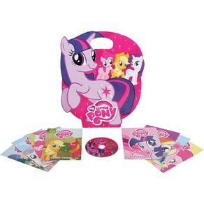 Kit-8Livros-inf-CD-Little-Pony
