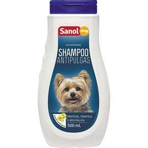Shampoo Sanol Dog Anti Pulgas 500ml
