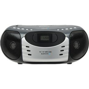 Rádio com Bluetooth. MP3. FM. Entradas USB. Auxiliar Philco PB119BT