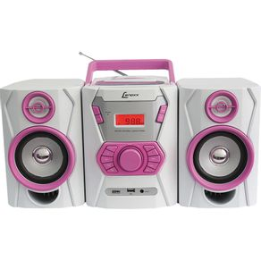 Micro-System-CD-MP3-USB-Lenoxx-MC265-Ro