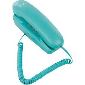 Telefone Gôndola com Bloqueador Colorido KXT3026X Teleji Verde