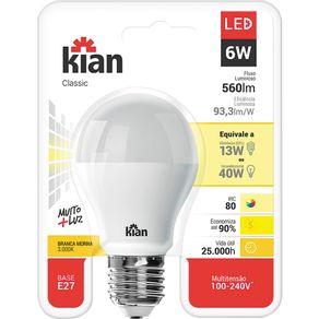 Lamp-Led-6W-Classic-Kian-Am-Bv