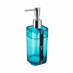 Porta-Sabonete-Liquido-Splash-Verde-Transparente-7744864