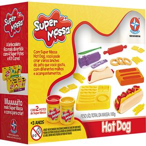 Super Massa Hot Dog Estrela