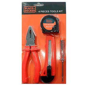 Kit de Ferramentas 4 Peças BD80291 Black & Decker