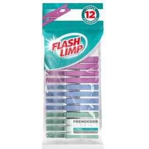 Conjunto 12 Prendedores Compact Flash Limp