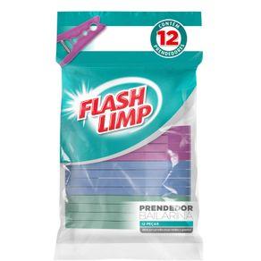 Conjunto 12 Prendedores Bailarina Flash Limp