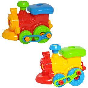 Coleção Aprenda a Montar Trem DMT5096 DMToys Sortida