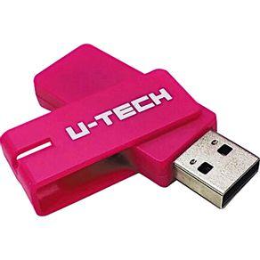 Pen Drive 8GB U-Tech Rosa