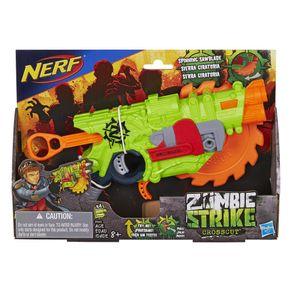 Lançador de Dardos Nerf Zombie Crosscut B3482 Hasbro 1520245