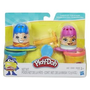 Conjunto Play-Doh Cabelo Maluco B3424 Hasbro