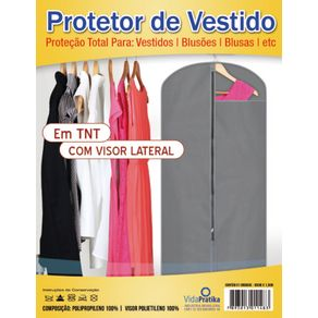 Protetor de Vestido com Visor Vida Pratika