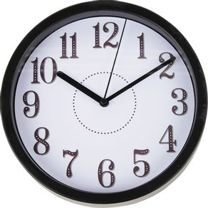 Relógio 20cm Redondo Pequeno Cazza Números
