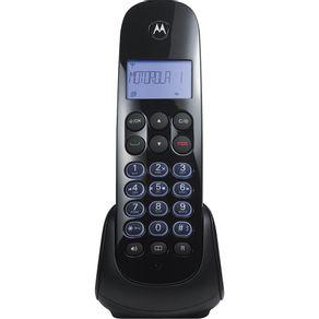 Telefone sem Fio com Identificador e Viva Voz Dect 6.0 Motorola MOTO750ID - Preto