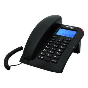 Telefone com Identificador/Viva Voz Intelbras TC60 ID - Preto