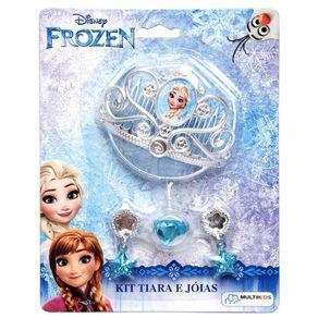 Kit Tiara e Joias Frozen BR624 Multikids