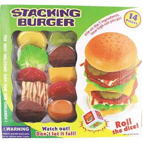 Jogo Empilha Burger Creative Fun BR646 Multikids