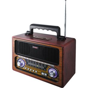 Radio-Port-Bluet-FM-USB-Retro-TRC213