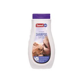 Shampoo Sanol Dog Vet Gatos 500ml