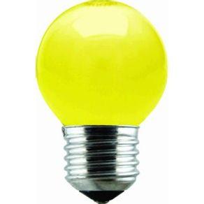 Lampada-Incandescente-15W-Bola-Taschibra-127V-Amarela