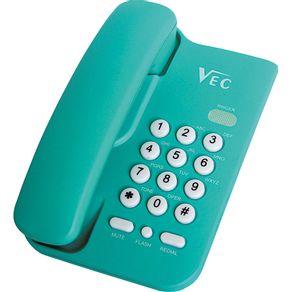 Telefone com Bloqueador Vec KXT3026 Verde